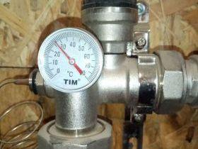 Температурный режим отопления водяным теплым полом под ламинат