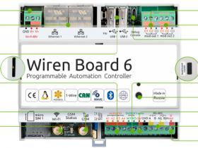Wiren Board  в качестве зонального контроллера отопления теплыми полами