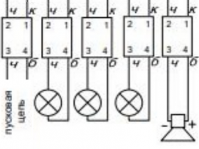 Правильное не-подключение модулей пожаротушения к С2000-АСПТ