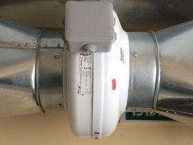 Управление вентилятором при помощи «С2000-СП4».