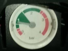 Запуск котла Baxi при недостаточном давлении воды
