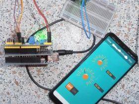 Мониторинг Arduino UNO + ESP8266 через облачный сервер RemoteXY