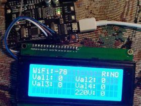 Получаем уровень связи WiFi модуля ESP8266