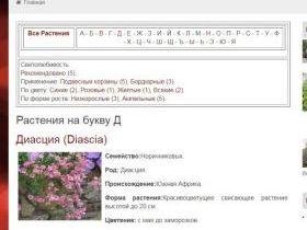 Плагин алфавитный каталог для MaxSite CMS