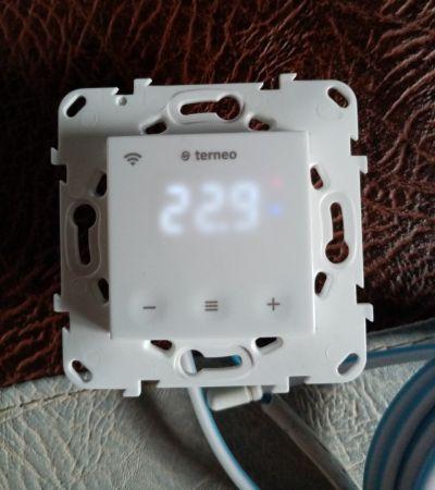 Тестирование облачного терморегулятора terneo sx.